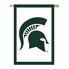 Officially Licensed NCAA Applique House Flag - Michigan State