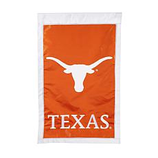 Officially Licensed NCAA Applique House Flag - University of Texas
