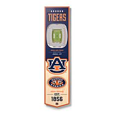Officially Licensed NCAA Auburn Tigers 3D Stadium Banner