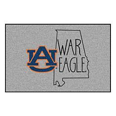 "Officially Licensed NCAA Auburn University 19""x30"" Southern Style Rug"