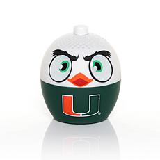 Officially Licensed NCAA Bitty Boomers Bluetooth Speaker - Miami