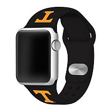Officially Licensed NCAA Black 42/44MM Apple Watch Band- TN Volunte...