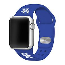 Officially Licensed NCAA Blue 42/44MM Apple Watch Band - KY Wildcats