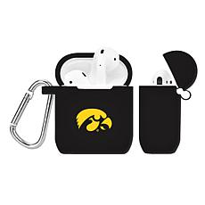 Officially Licensed NCAA Case for AirPod Case - IA Hawkeyes - Black