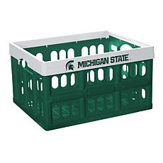 Officially Licensed NCAA Collapsible Crate - Michigan State