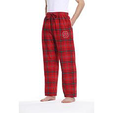 Officially Licensed NCAA Concepts Sport Men's Flannel Pant - NC State