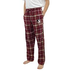 Officially Licensed NCAA Concepts Sport Men's Plaid Flannel Pant-FSU
