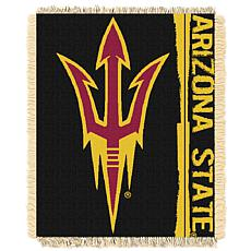 Officially Licensed NCAA Double Play Woven Throw - Arizona