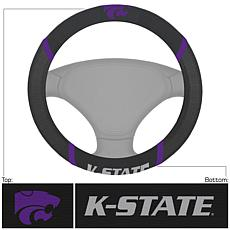 Officially Licensed NCAA Embroidered Steering Wheel Cover-Kansas State