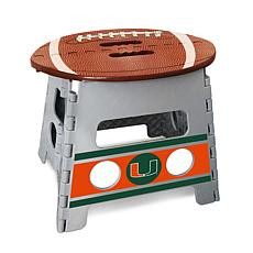 Officially Licensed NCAA Folding Step Stool - University of Miami