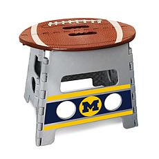 Officially Licensed NCAA Folding Step Stool - University of Michigan