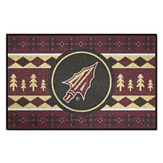 Officially Licensed NCAA Holiday Sweater Mat- Florida State University