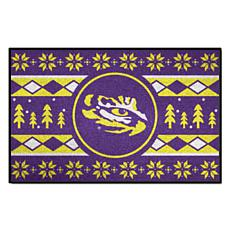 Officially Licensed NCAA Holiday Sweater Mat - Louisiana State