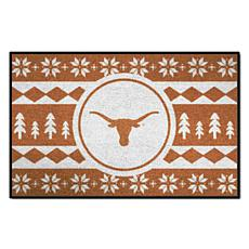 Officially Licensed NCAA Holiday Sweater Mat - University of Texas