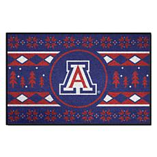 Officially Licensed NCAA Holiday Sweater Mat - University of Arizona
