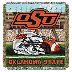 Officially Licensed NCAA Home Field Advantage Throw - Oklahoma State