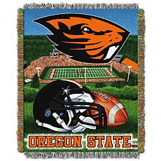 Officially Licensed NCAA Home Field Advantage Throw - Oregon State
