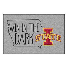 "Officially Licensed NCAA Iowa State 19"" x 30"" Southern Style Rug"