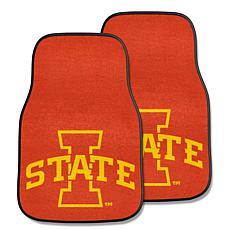 Officially Licensed NCAA Iowa State University Carpet Car Mat 2-Pc Set