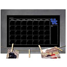 Officially Licensed NCAA Kentucky Monthly Chalkboard w/ Clothespins