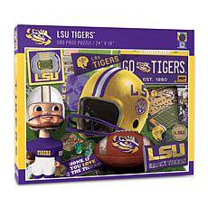 Officially Licensed NCAA LSU Tigers Retro Series 500-Piece Puzzle