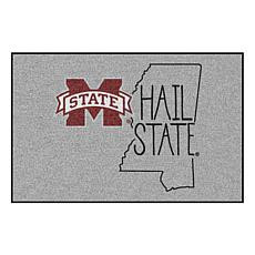 """Officially Licensed NCAA Mississippi State 19""""x30"""" Southern Style Rug"""