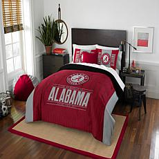 Officially Licensed NCAA Modern Take F/Q Comforter Set - Alabama