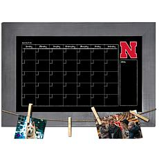 Officially Licensed NCAA Nebraska Monthly Chalkboard w/ Pins