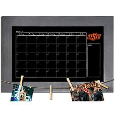 Officially Licensed NCAA Oklahoma State Monthly Chalkboard w/ Pins