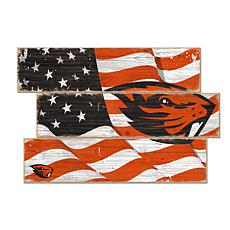 Officially Licensed NCAA Oregon State Three Plank Flag