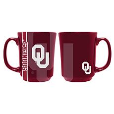 Officially Licensed NCAA Reflective 11 oz. Coffee Mug - Oklahoma