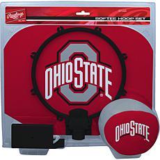 Officially Licensed NCAA Slam Dunk Softee Hoop Set - Ohio State