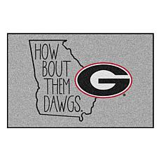 Officially Licensed NCAA Southern Style Rug - University of Georgia