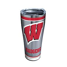 Officially Licensed NCAA Stainless Steel Tumbler - Wisconsin Badgers