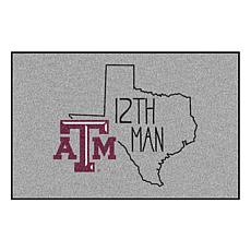 """Officially Licensed NCAA Texas A&M 19"""" x 30"""" Southern Style Rug"""