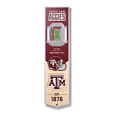 Officially Licensed NCAA Texas A&M Aggies 3D Stadium Banner
