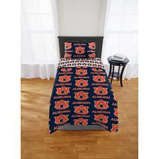 Officially Licensed NCAA Twin Bed in a Bag Set - Auburn Tigers