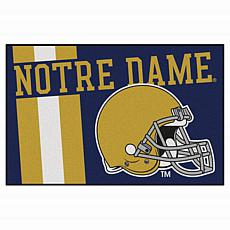 Officially Licensed NCAA Uniform Rug - Notre Dame