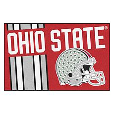 Officially Licensed NCAA Uniform Rug - Ohio State University