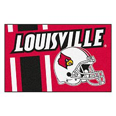 Officially Licensed NCAA Uniform Rug - University of Louisville