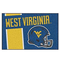 Officially Licensed NCAA Uniform Rug - West Virginia University