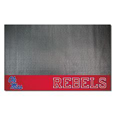 Officially Licensed NCAA Vinyl Grill Mat - Ole Miss