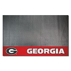 Officially Licensed NCAA Vinyl Grill Mat - University of Georgia