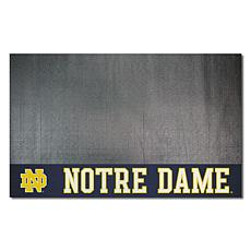 Officially Licensed NCAA Vinyl Grill Mat - University of Notre Dame