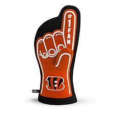 Officially Licensed NFL #1 Fan Oven Mitt - Cincinnati Bengals