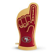 Officially Licensed NFL #1 Fan Oven Mitt - San Francisco 49ers