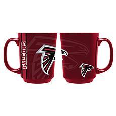 Officially Licensed NFL 11 oz. Reflective Mug - Atlanta Falcons
