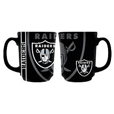Officially Licensed NFL 11 oz. Reflective Mug - Oakland Raiders