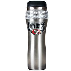 Officially Licensed NFL 14 oz. Travel Tumbler-SF 49ers