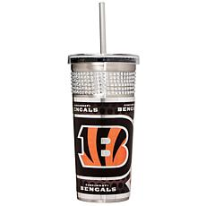 Officially Licensed NFL 16oz. Tumbler w/Straw - Bengals